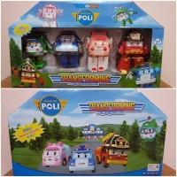 Mainan set robocar poli 4 in 1 - mainan robocar poli edukatif anak