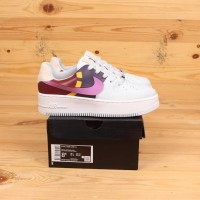 Nike Air Force 1 Sage Low LX Grey Dark Orchid Premium