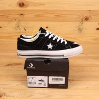 Sepatu Converse One Star Ox Black White Premium