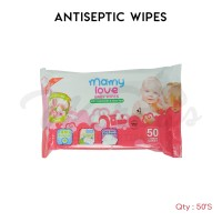 Mamy Love Baby Antiseptic Wipes 50's