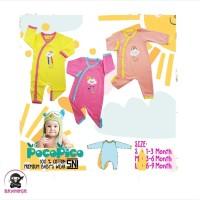 POCOPICO Jumper Bayi Panjang Kancing Rainbow Series Girl size S