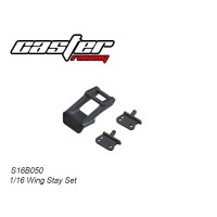 S16B050 1/16 Buggy Wing Stay Set