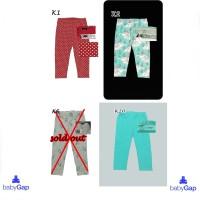 Celana Lejing leging anak 1~5th Branded Baby Gap Motif Original murah