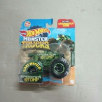 Hotwheels Monster Trucks 2020 Pickup Hijau