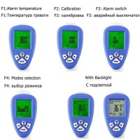 Ready Thermometer Digital Led Laser Infrared IR Body Pengukur