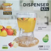 Dispenser Golden Dragon 6,5 L 889-1 with infused water