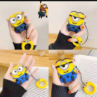 AIRPODS 1/2 SILICONE CASE EARPHONE BLUETOOTH MINIONS