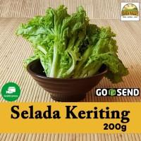 Sayur organik premium - Selada Keriting per pack (+/- 200g)