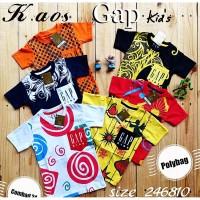 Kaos Anak GAP Premium paket 79rb get 3pcs Baju anak Murah