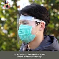 face shield faceshield nonmedis pelindung wajah adp alat proteksi diri