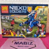 Lego lele nexo soldiers 79236