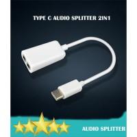TYPE C - Audio Splitter 2in1 Microphone + Headset Jack 3.5mm