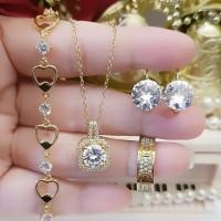 titanium set perhiasan dewasa 4n15