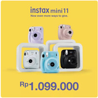 Fujifilm Instax Mini 11 Kamera Instan - Lilac Purple