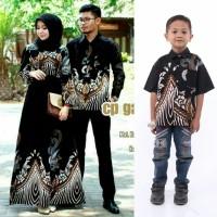 batik couple keluarga set anak cowok baju batik sarimbit terbaru