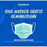 Masker kain khusus DONASI