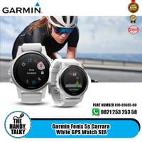 Garmin Fenix 5s Carrara - White GPS Watch SEA