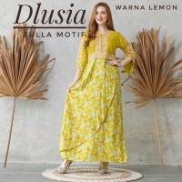 New Daster Arab Fulla Motif by Dlusia Original/Baju Wanita/Baju Tidur