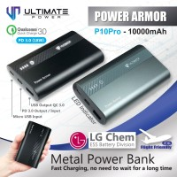 Ultimate Power QC+PD Fast Charging Metal Powerbank 10000mAh P10 Pro