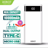 power bank ROBOT RT160 Fast Charging 10000mAh Garansi Resmi 1 tahun