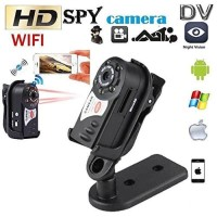 Mini Dv Wifi Camera Q7/Camera Mini Dv P2P Night Vision Infrared Q7