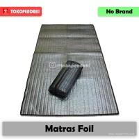 Matras Tikar Camping Mattress Alas Hangat Anti Dingin Alumunium Foil