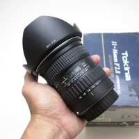 Lensa Ultrawide Tokina 11-16mm F2.8 11-16 For Canon Surabaya Sidoarjo