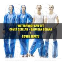Baju APD Murah - Baju + Celana + Sepatu - Jas Hujan Plastik-Jas Hujan