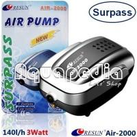 Resun Air2000 Pompa Udara Aerator Aquarium Air Pump