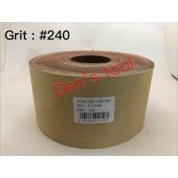 Amplas Roll Grit 240 x 50 meter / Amplas Roll Kain