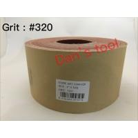 Amplas Roll Grit 320 x 50 meter / Amplas Roll Kain