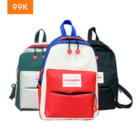 99K Tas Ransel Korea Wanita Korean Fashion Style School Backpack Jalan