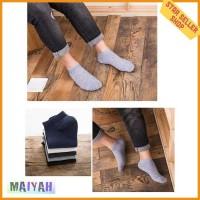 Kaos Kaki Pendek Pria Cotton Low Socks kaus kaki laki cowok Import