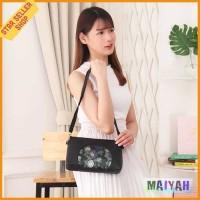 Tas Selempang Wanita Kulit PU sling bag slingbag Leather slempang