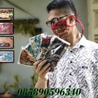 masker kain batik murah selusin