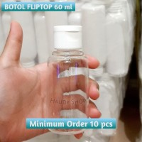 BOTOL FLIPTOP 60 ml BENING
