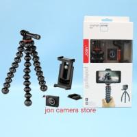joby griptight action kit - gorillapod smartphone + action cam gopro