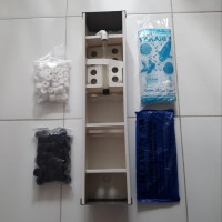 filter talang air aquarium size 60 cm paket lengkap