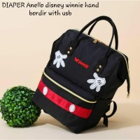 Diaper bag disney original mickey import murah good quality anello