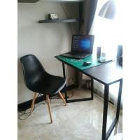 WFH SET B Meja Kantor Trapezoid dan Kursi