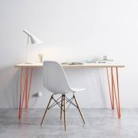WFH SET E Meja Kerja Kantor dan Kursi