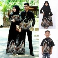 batik couple ayah ibu dan anak baju keluarga batik