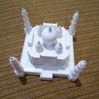 Pajangan Souvenir Miniatur Taj Mahal India