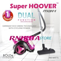 BOLDE SUPER HOOVER MAX ONE - Cyclone Vacuum Cleaner 2 in 1