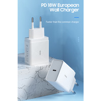 Benks PA31 EU Wall Charger Type C Power Delivery 18W White