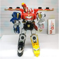 Minipla Gosei Great set Repaint ( Goseiger Series )