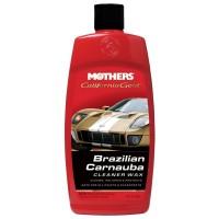 Mothers Brazilian Carnauba Cleaner Wax liquid 473ml