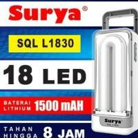 Lampu Emergency Recharge Portable SURYA SQL L1830