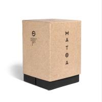 Matoa Way Kambas Mini Jam Tangan Kayu Pria/Wanita/Unisex - Maple