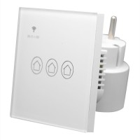 Smart WIFI Wall Light Touch Panel Switch App Timing Socket Alexa Goog